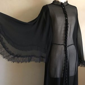 Dark Mistress Boudoir Gown